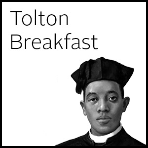 Augustus Tolton black and white breakfast